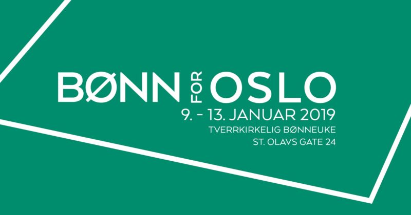 Bønn for Oslo 2019