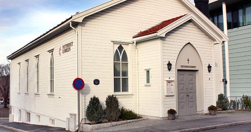 Digital gudstjeneste fra Metodistkirken i Moss