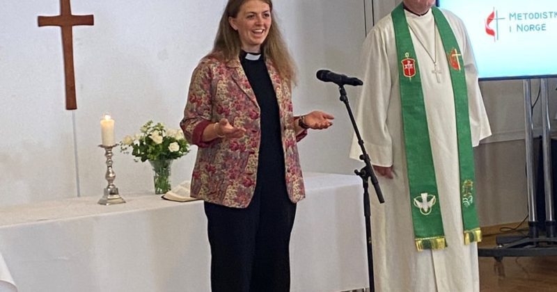 Nye prester i Metodistkirken